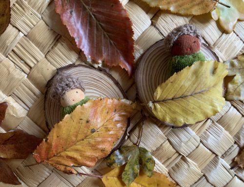 Preserving Autumn Leaves – the ultimate seasonal loose part